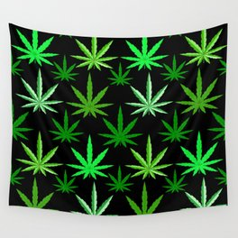 Marijuana Green Weed Wall Tapestry