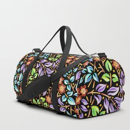 Filigree Flora Duffle Bag