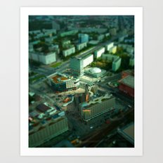 Mini Berlin I Art Print