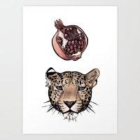 panthera granatum Art Print