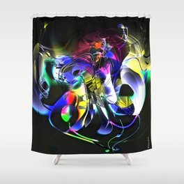Hypothesis of a squid Shower Curtain