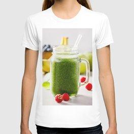 green smoothie T-shirt