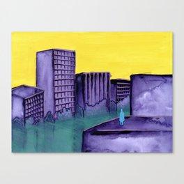 Contaminate Canvas Print