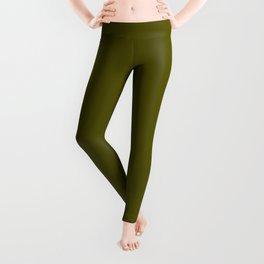 Monochrom 24 dark green Leggings