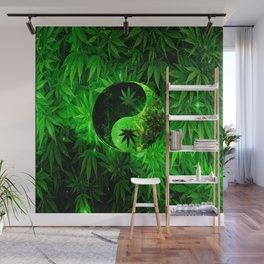 Hemp camo  Wall Mural
