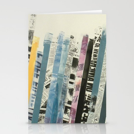 STRIPES 3 Stationery Cards