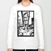 christ Long Sleeve T-shirts featuring Zombie Christ by Dandy Jon