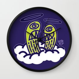 Tragedy and Comedy Wall Clock