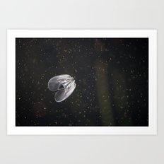 Jellystar Galactica Art Print
