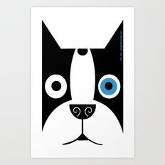 Boogie Face Art Print