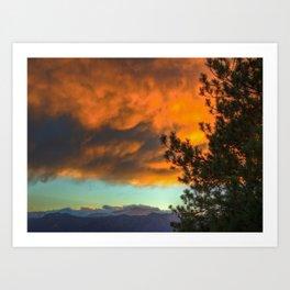 Colorado Colours Art Print