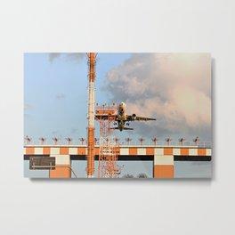Airport feelings Metal Print