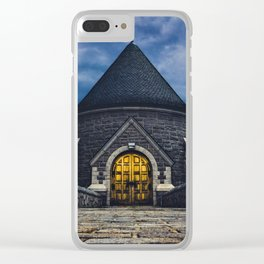 Castle in the Sky Clear iPhone Case
