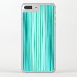 Ambient 5 in Teal Clear iPhone Case