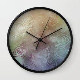 Universe Mandala Glow Wall Clock
