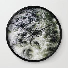 Black Water Wall Clock