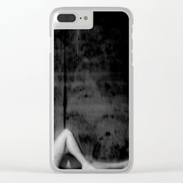male nude study Clear iPhone Case