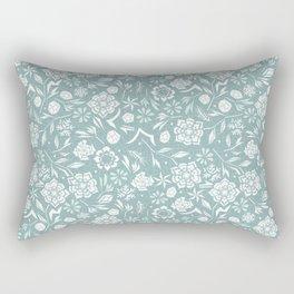 Frozen garden Rectangular Pillow