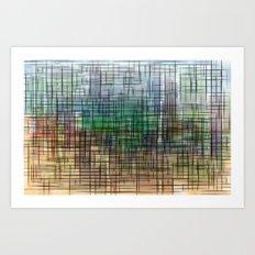 gridscape Art Print