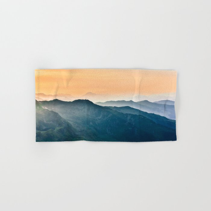 Early Morning Mountains Hand & Bath Towel