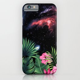 Tropical Space #7 iPhone Case