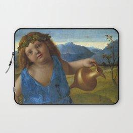 "Giovanni Bellini ""The Infant Bacchus"" Laptop Sleeve"
