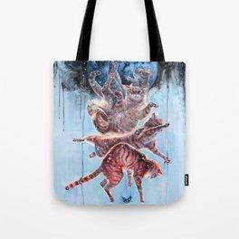 Felinoid Fall Tote Bag