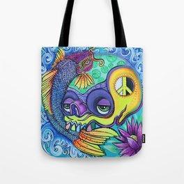 Dragon's Gate Tote Bag