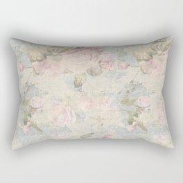 Faded Rose Rectangular Pillow