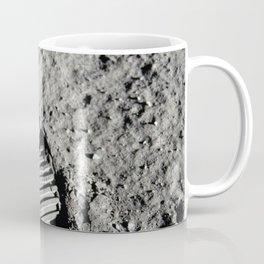 Boot Print on Moon Coffee Mug