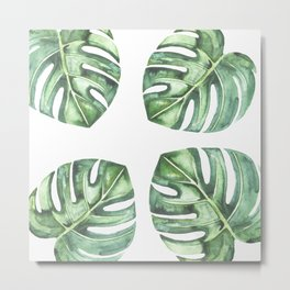 Monstera #society6 Metal Print