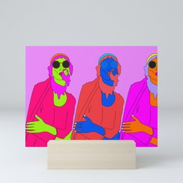 life's a party Mini Art Print