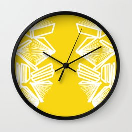 Bookworm - Marigold Wall Clock