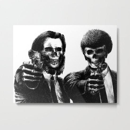 Pulp Fiction Metal Print