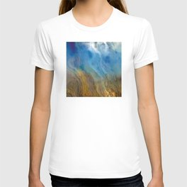 Raining Rivers of Sky: Abstract Painting T-shirt
