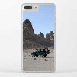 Escaping Megapolis Clear iPhone Case