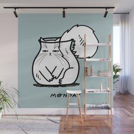 Monday Wall Mural