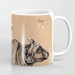 Teatime with waterbuffalo and genet Coffee Mug