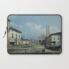 Bernardo Bellotto - The Piazza San Martino, Lucca Laptop Sleeve