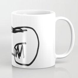 napping dog Coffee Mug