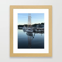 """Kennebunk River Reflection"" Photography Framed Art Print"