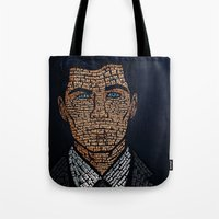 archer Tote Bags featuring Archer Quotes by 666HUGHES