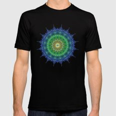 Eye of the Earth MEDIUM Mens Fitted Tee Black