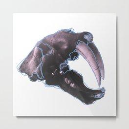 Sabertooth Metal Print