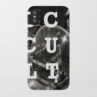 occult iPhone & iPod Cases featuring Occult by Mario Zoots