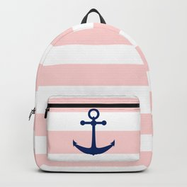 AFE Nautical Navy Ship Anchor Backpack