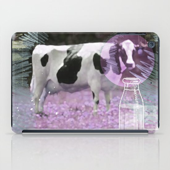 Milk comes from a bottle iPad Case