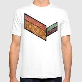 Vintage Material Chevron T-shirt