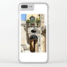 Procida #3 Clear iPhone Case