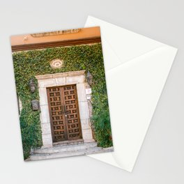 The botanical door | San Miguel de Allende | Mexico travel photography print Stationery Cards